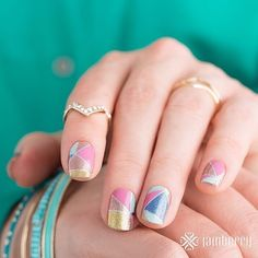 I'm seriously crushing on this month's Sisters' Style Exclusive Color Crush. It's a mix of classic glossy and sparkle and it reminds me of the popular shattered glass manis. Available in March eligible for the B3G1 discount.  #Jamberry #jamberrynails #jamberryuk #jamberryaustralia #jamberryaustralia #colorcrushjn #sistersstyleexclusive #ssejn #stainedglass #shatteredglassnails #nailart #nails #nailwraps #nailcare #nailfie #nailartclub #nailartaddict #mani #pittsburgh #springtime…