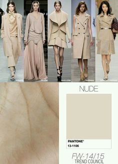 F/W 14-15 Trend Council Nude