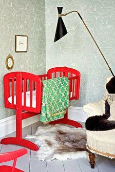 nursery with personality/ #nursery #decor
