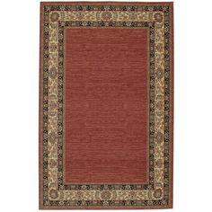 Ashara Collection Agra Border Karastan Area Rug ($1,200) ❤ liked on Polyvore