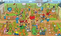 What's Wrong with these pictures? on Behance Speech Language Therapy, Speech Therapy Activities, Speech And Language, Hidden Words In Pictures, Silly Pictures, Dyslexia Activities, Language Activities, Spot The Difference Kids, Picture Comprehension