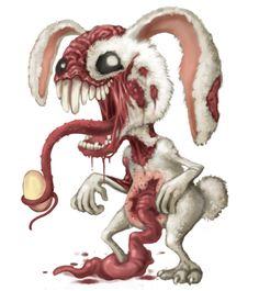 Evil Easter Bunny - http://zombies.futtoo.com/evil-easter-bunny #zombies