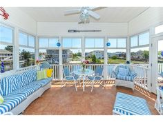 62 S. Anchorage Ave South Bethany Beach DE - Enjoy the summer in this 3 season room overlooking the water in this home for sale in Bethany Beach DE