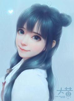 堆糖-美好生活研究所 Korean Art, Asian Art, Amazing Drawings, Cute Drawings, Chica Cool, Japanese Drawings, Dragonfly Art, Fanarts Anime, Art Challenge