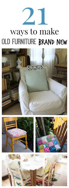 DIY Chair Slipcovers & Other DIY Slipcover Patterns | AllFreeSewing.com