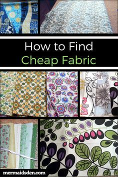 Sewing Fabric Storage How to Find Cheap Fabric for Sewing Projects - In this post, I'll walk you through the process of finding cheap fabric for your sewing projects. You can sew without fear when using cheap fabric! Sewing Hacks, Sewing Tutorials, Sewing Crafts, Sewing Tips, Sewing Ideas, Learn Sewing, Dress Tutorials, Diy Crafts, Creeper Minecraft