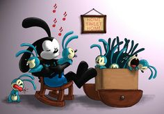 Epic Mickey: Oswald and his kids