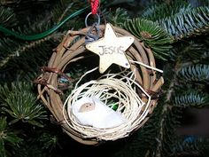 -Aw, My kids made these when they were little!! On our tree now!