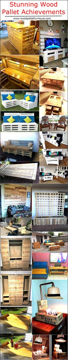 Here we are presenting some stunning wood pallet achievements, and I am pretty optimistic that many fellow crafters are going to find out many workable solutions and inspirations out of these tremendous wood pallet creations.
