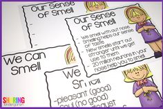 sense of smell chart
