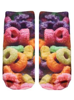Fruit Loops Ankle Socks
