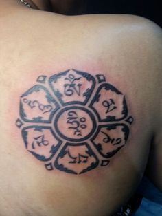 My 2nd tattoo :) Om Mani Padme Hum