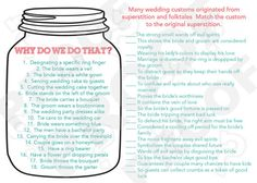 items similar to instant download bridal shower game why do we do that match the customs mason jar style customization not included on etsy