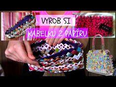 Vyrob si KABELKU Z PAPÍRU - YouTube
