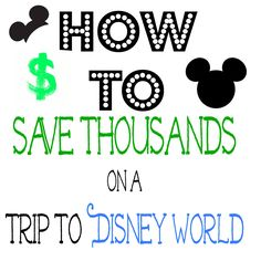 How to Save Thousands on a Trip to Disney World. These are great tips for everyone! Repin this even if you are thinking of taking a trip to #Disney