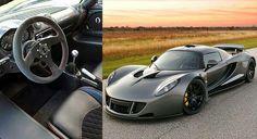 2. Hennessy Verom GT = Velocidade Máxima: 434 km/h