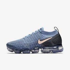Nike Air VaporMax Flyknit 2 - women's shoe for Sale in Buffalo, NY - Fashion Moda 2019 Nike Air Max, New Nike Air, Air Max Sneakers, Sneakers Nike, Running Sneakers, Nike Running, Running Shoes For Men, Working Blue, Look Girl