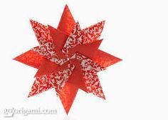 diagrama flores origami - Pesquisa Google