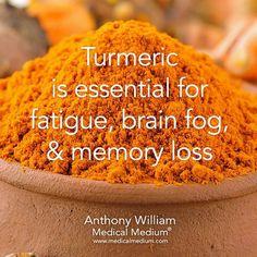 Fatigue remedies for men and women Turmeric is essential for fatigue brain fog  memory loss by medicalmedium