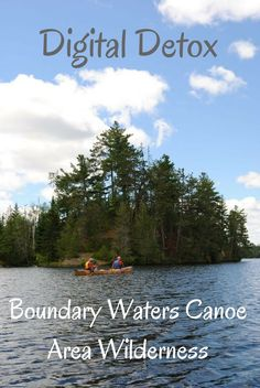 Boundary Waters Canoe Area Wilderness in Minnesota, USA. Travel in North America.
