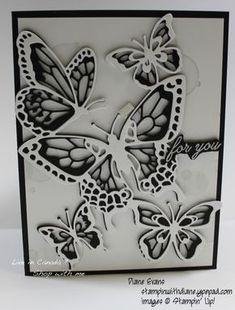 Stampin with Diane Butterfly Template, Leaf Template, Butterfly Design, Owl Templates, Applique Templates, Flower Template, Applique Patterns, Butterfly Cards Handmade, Butterfly Birthday Cards