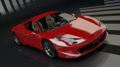Ferrari 458 Italia on Behance