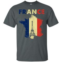 French Flag Eiffel Tower T-shirt France World Cup 2018, France 1, Custom Shirts, Things That Bounce, Custom Design, Shirt Designs, Tower, Flag, Design Inspiration
