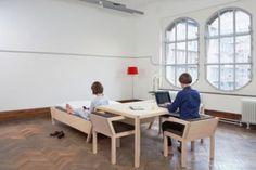Bed'n Table, cama y mesa en un mismo mueble http://blgs.co/28aGa9