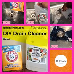 How to Naturally Clean Your Drains - Do this monthly to prevent clogs