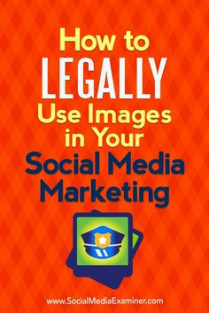 With a bit of information, you can learn to protect yourself and your business from a copyright infringement lawsuit. In this article, you��ll discover five tips to help you use images correctly (and legally) on social media.