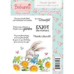 Bebunni Floral Stamp - Flower Garden.