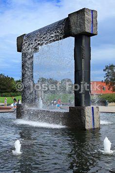 Fountain sculpture, Kristiansand, Norway