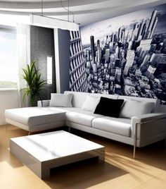 modern home decor | contemporary living room decorating ideas ...