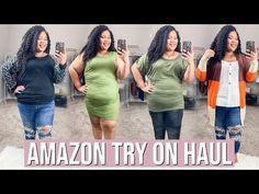 PLUS SIZE AMAZON TRY ON HAUL 2020 | BEST AFFORDABLE PLUS SIZE CLOTHING 2020 - YouTube Affordable Plus Size Clothing, Looking Dapper, Classy And Fabulous, Try On, Plus Size Tops, Fashion 2020, Torrid, Plus Size Outfits, Plus Size Fashion