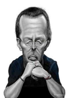 Eric Clapton by Walter Fornero