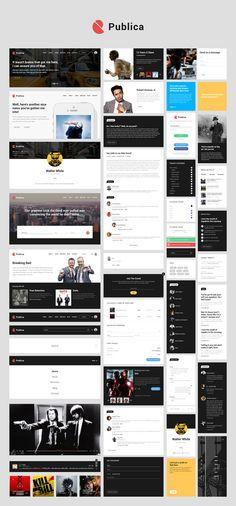 Publica-free UI kit