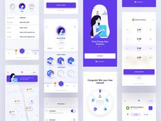 Trunow - Mobile App by Michal Parulski for widelab on Dribbble Mobile App Design, Android App Design, Navigation Design, App Ui Design, Design Design, App Badges, Dashboard Mobile, App Map, Software