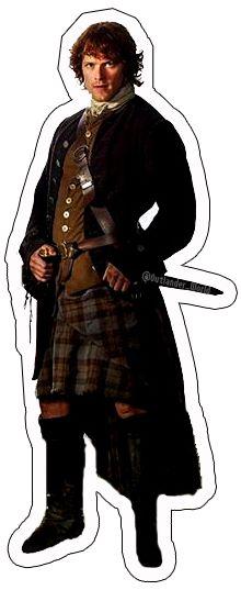 Pocket Jamie from Outlander