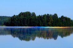 A spectre on a lake's surface,  Erkki Helin