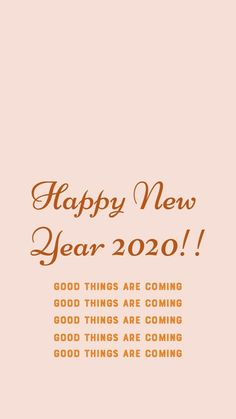 Happy New Year Quotes Inspiration Affirmations 2020 Dear