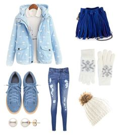 """""""Blue and white"""" by juliaschaefer1998 ❤ liked on Polyvore featuring Tommy Hilfiger, STELLA McCARTNEY and Fits"""