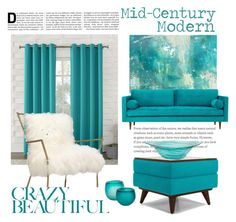 """""""Crazy Beautiful"""" by rehtaeh69 ❤ liked on Polyvore featuring interior, interiors, interior design, home, home decor, interior decorating, Barclay Butera, Sun Zero, Joybird and Pomeroy"""