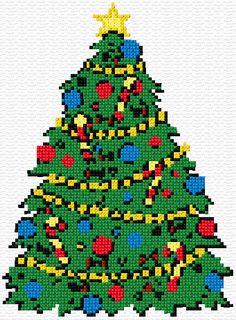 Cross Stitch | Merry Christmas! xstitch Chart | Design