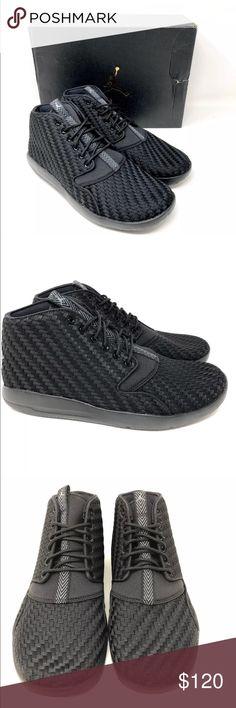 219af5bd15ffdb Nike Air Jordan Eclipse Chukka Black Cool Grey Nike Air Jordan Eclipse  Chukka Basketball Sneakers Black
