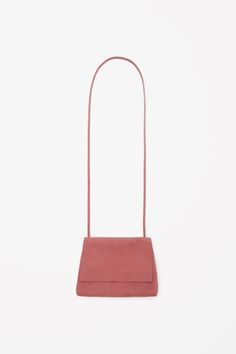 Soft suede shoulder bag