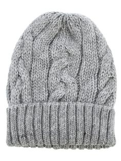 Daniele Fiesoli / Gray Knit Hat