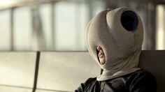 Ostrich Pillow, la almohada para siestas 'anywhere', se estrena en Kickstarter en http://www.yorokobu.es