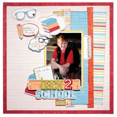 back 2 school featuring Geek is Chic from Imaginisce - Scrapjazz.com
