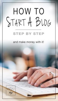 How to start a blog-mini