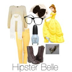 Hipster Belle .. Little bit more normal. And no legging as pants (last one, promise)